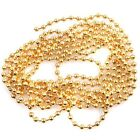 New Charms Steel Gold Tone Bead Chain Jewllery Findings Fit Necklace/Bracelets