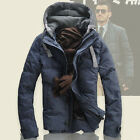fashion outwear men's down jacket winter hooded coat warm puffer coat mens parka