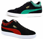 Puma Stepper Suede Animal Mens Lo Black Trainers (355645 01/02 D21)