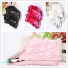 New lace flowers autunm baby girls shoes cute newborn kids shoes 0-12 month