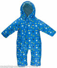 Trespass Babies Padded Snowsuit Warm Winter Wear Blue for Boys 6-12,12-18,18-24m