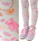 Harajuku Decora Kawaii Lolita Mint Pastel Dream Lollipop Jelly Bean Candy Tights