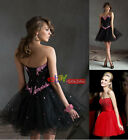 STOCK New Mini/Short Bridesmaid Cocktail Prom Party Ball Evening Dress Size 6-16