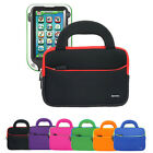 Tablet Neoprene Dual Pocket Sleeve Cover Handle Case For LeapFrog LeapPad Ultra