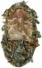 Nitehawk Kids/Childrens 3D Leaf Face Mask Woodland Camo/Camouflage Ghillie
