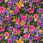 Pansy Passion Quilt Fabric Fat Quarter