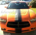 """12"""" Center stripe stripes graphics decal decals fit any 2011 & up Dodge Charger"""