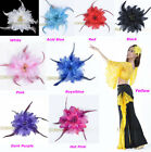 Belly Dancing Tribal Party Wedding Costume Headdress Head Flower Pin Brooch Clip