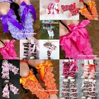 ON SALE Girl Baby Lace Leg Warmers Sock Tights Stocking Clothing wif Bow 2-6Year