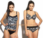 PANACHE Tao Underwired Bikini Top Sizes 32 38 D to K Fold Pant Low Pant 8 - 20