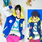 Free! Iwatobi Swim Club Haruka Nanase Hoodie Jacket Cosplay Unisex Hooded Tops