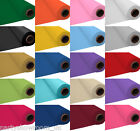 100ft Plastic Banquet Roll Party Wedding Table Cover 20 Colours Listing PS
