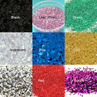 Craft Glitter Flakes 35g Tub 040 Hex 1mm Silver Gold Black Red Blue Iridescent