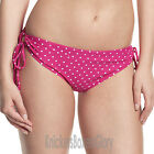 Panache Cleo Swimwear Betty Drawstring Bikini Brief Pink Spot CW0038 Select Size