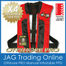 """4 x AXIS OFFSHORE """"PRO"""" RED MANUAL INFLATABLE PFD1 LIFEJACKET 150N Life Jackets"""