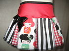 NEW Black,red,pink,white,stripes,Geisha,floral tie dyed lolita Skirt,All sizes
