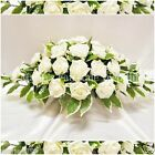 SILK WEDDING FLOWERS LARGE TOP TABLE ARRANGEMENT FOAM ROSES IVORY