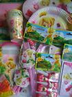 TINKERBELL (Disney Fairies/Princess) PARTY RANGE {Everts} {fixed £1 p&p}