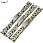 13mm 17mm 20mm New Stainless Steel Watch Band Bracelets Curved end Used for Rol—