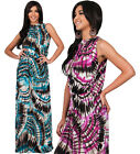 NEW Womens Sleeveless Flattering Slimming Cocktail Plus Maxi Dress S M L XL 2X