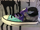 NEW CONVERSE CHUCK TAYLOR ALL STAR TRI-PANEL PURPLE GREEN WOMEN SHOES 542466C