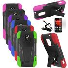 Phone Case For ZTE Source Silicone Corner Cover Stand + Car Charger + LCD