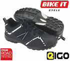 NEW 2014 EIGO BLACK CENTAUR DOWNHILL RACE SHOES DH XC BMX INCLUDING FREE P&P