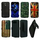 Phone Case For Samsung Galaxy S4 Active Hard Cover + Holster Clip wStand