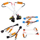 2 x H7/H8 H9 H11/9007/H13 LED Xenon HID No Error Load Resistor Wiring Harness