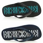 Men's Shoes EMPORIO ARMANI Sandals Flip-Flops 211301 4P498 Rubber Thongs Beach
