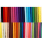 Plain Solid Polycotton Fabric - 20cm x 20cm SAMPLE PIECE - Polyester Cotton