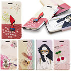 FASHION CUTE WALLET LEATHER FLIP STAND COVER CASE FOR SAMSUNG GALAXY FREE FILM