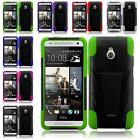 For HTC One Remix M8 Mini 2 Durable Hybrid T-stand Cover Case Accessory
