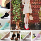 5 Color Vintage Lace Ruffle Frilly Ankle Socks Fashion Ladies Princess Girl Gift