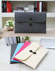 "Woolen Felt Envelope Laptop Sleeve Case Cover For 11""13.3""15.4"" Macbook Air Pro"
