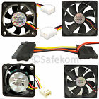 12v SATA IDE Molex PC Computer CPU Case Quiet Cooling Cooler Fan Different sizes