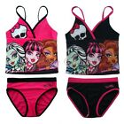 2PCS Monster High Girl Swimsuit Bathing Suit Swimwear Costume Tankini Tops+Pants