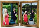 Gold Ornate Double Hinged Photo Picture Frame 4x6 New Wood
