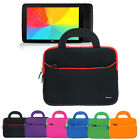 Neoprene Sleeve Handle Portfolio Cover Case For LG G Pad 10.1 10.1-inch Tablet