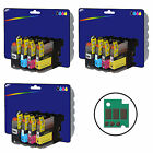 Choice of Any 12 Compatible Printer Ink Cartridges for Brother LC123 Range