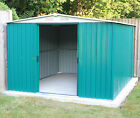 Woodside Darlington Metal Garden Apex Roof Shed with FREE Foundation
