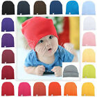 New Unisex Cotton Warm Soft Beanie Hat fr Cute Baby Boy/Girl Toddler Infant Cap