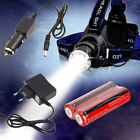 2000Lm CREE XM-L T6 LED Zoomable Zoom Headlamp Headlight Torch Light 18650 CH