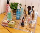 Fashion Clear Cosmetic Jewellery Rack Makeup Organizer Case Storage Container S