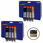 2 Sets of Chipped Compatible Printer Ink Cartridges for HP 364 Range [364 x4]
