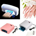 9W 36W Salon Gel Curing Nail Polish UV Lamp Acrylic Timer Light Manicure Dryer *