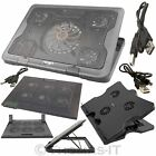 Laptop Notebook Cooler 3 / 5 / 6 FAN Cooling Stand Pad Adjustable Extra USB Port