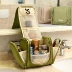 Travel Toiletry Wash Cosmetic Bag Makeup Storage Case Hanging Grooming Organizer