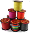 Multicolor 100M  4 PLYS   strong DYNEEMA braided PRO 10lb to 100lb Fishing Line