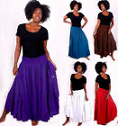@G192  RUFFLED POCKETS GORGEOUS DRESS OR SKIRT LOTUSTRADERS MADE 2 ORDER